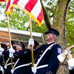 PWFD Color Guard during national anthem 2